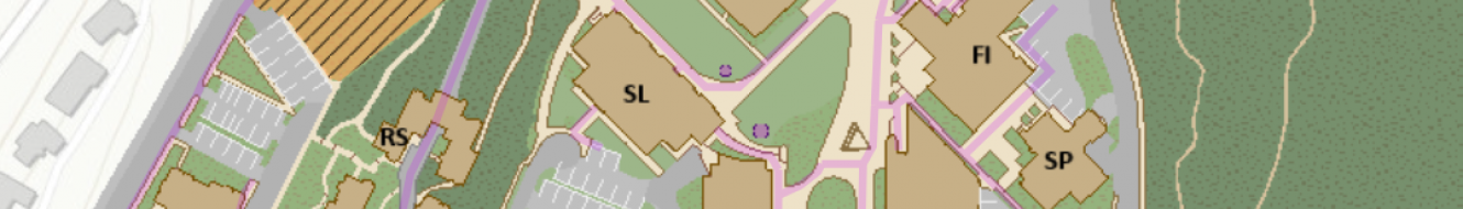 Map of SMATE building location